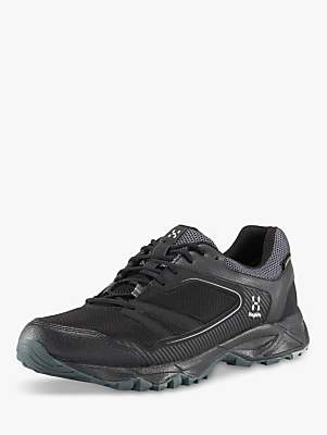 Haglöfs Trail Fuse Men's Waterproof Gore-Tex Walking Shoes, True Black