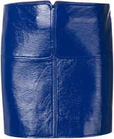 Courreges vinyl style mini skirt