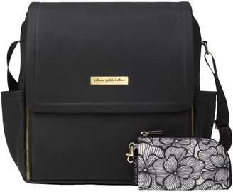 Petunia Pickle Bottom Leatherette Boxy Backpack Diaper Bag