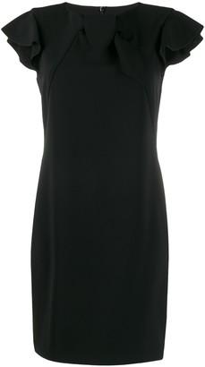 Moschino Ruffle Sleeve Dress