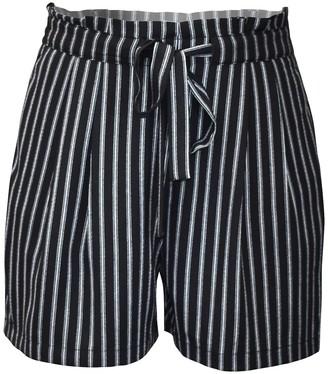 Dr2 By Daniel Rainn Tie Waist Shorts (Plus Size)