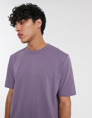 Asos loose fit t-shirt in purple