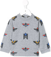 Armani Junior printed sweatshirt