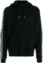 Versus logo print hoodie