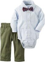 Carter's Boys 3-pc. Long Sleeve Pant Set-Baby