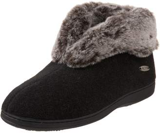 Acorn Women's Chinchilla Bootie Black Large 8-9 M US