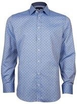 Jeff Banks Casual Aop Moon Print Oxford Slim Fit