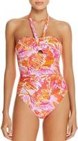 Lauren Ralph Lauren Lush Cutout One Piece Swimsuit