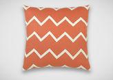 Ethan Allen Chevron Linen Pillow