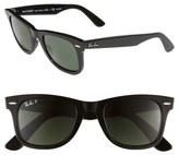 Ray-Ban 'Classic Wayfarer' 50mm Polarized Sunglasses
