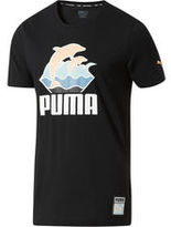 Puma Pink Dolphin Waves T-Shirt