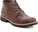 Brown Lace-Up Boot - Men