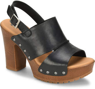 KORKS Kristian Wood Bottom Sandals Women Shoes