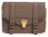 Proenza Schouler Women's Ps1 Lambskin Leather Chain Wallet - Grey