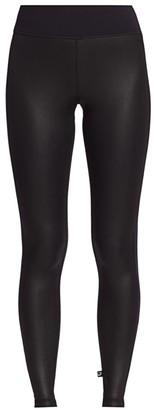 Terez Leather-Look Leggings