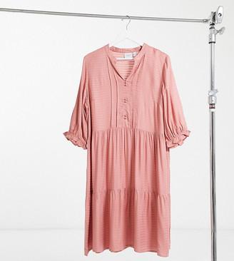 Junarose smock dress in pink