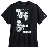 Disney Han Solo and Chewbacca runDisney Performance Tee for Adults