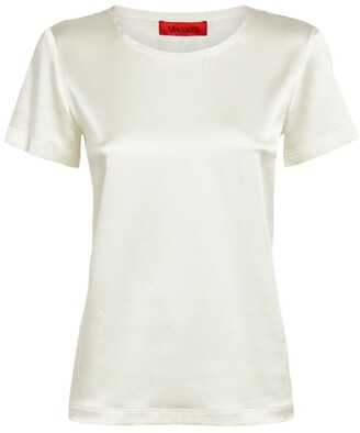 Max & Co. Silk-Blend Top