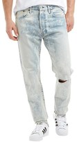 Levi's 501 Customized Tapered Fit Jeans Flushed