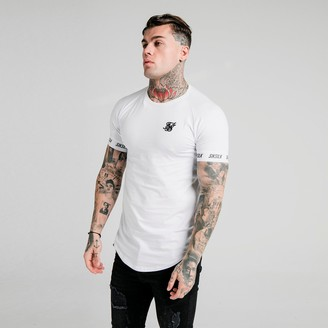 SikSilk Men's Raglan Tech T-Shirt