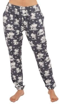 Munki Munki Vintage Snoopy Dog Lover Jogger Pajama Pants