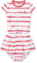 Ralph Lauren Girl Striped Tee Dress & Bloomer