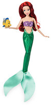 Disney Ariel Classic Doll with Flounder Figure - 11 1/2''