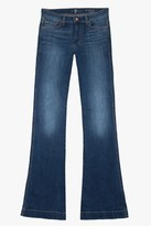 7 For All Mankind Slim Trouser In Prescott Medium Heritage