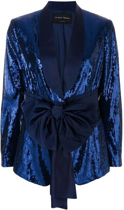 Christian Pellizzari Sequined Smoking Jacket
