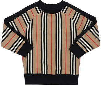 Burberry Signature Striped Cotton Sweatshirt