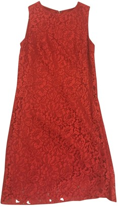 Dolce & Gabbana Red Lace Dresses