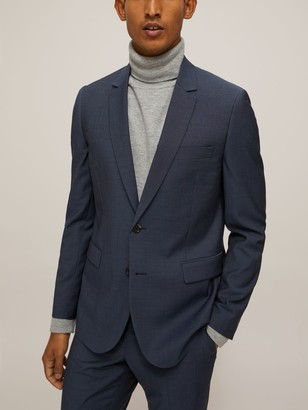 Paul Smith Wool Mohair Tailored Fit Suit Jacket, Teal