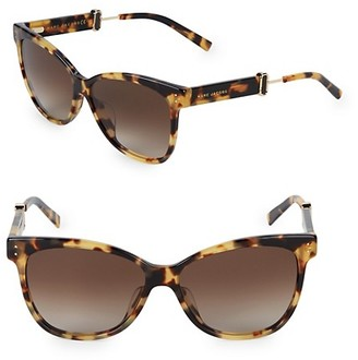 Marc Jacobs 55MM Butterfly Sunglasses