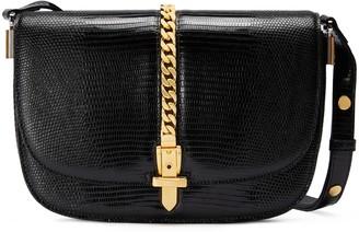 Gucci Sylvie 1969 lizard small shoulder bag