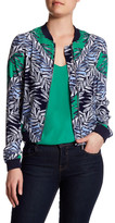Laundry by Shelli Segal Print Bomber Jacket