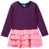 Toobydoo Striped Top Ruffle Bottom Dress (Toddler, Little Girls, & Big Girls)