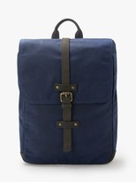 John Lewis & Partners Keswick Waxed Cotton Backpack