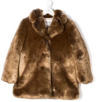 Bonpoint Faux-Fur Coat