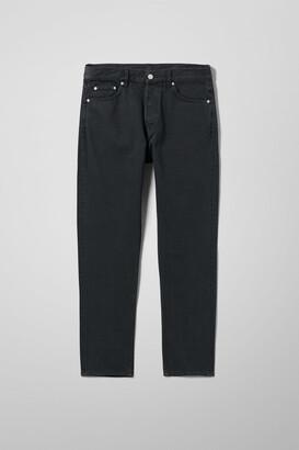 Weekday Pine Regular Tapered Jeans - Black