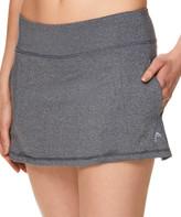 Head Women's Casual Skirts CHARCOAL - 12'' Charcoal Heather Lead Pocket Skort - Women