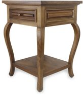 Novica Handcrafted Parota Wood 'Colonial Mansion' End Table (Mexico)