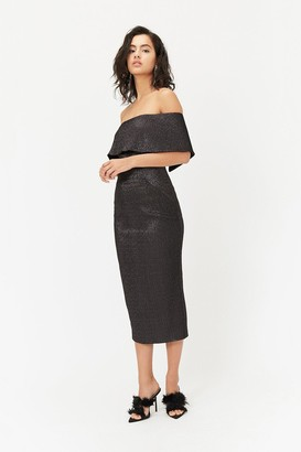 Coast Sparkle Bardot Dress