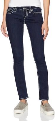 True Religion Women's Super Skinny Big T Jeans