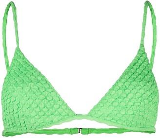 ACK Textured Bikini Top
