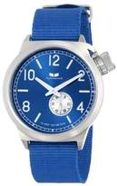 """Vestal Men's CAN3N07 """"Canteen Zulu"""" Stainless Steel Watch with Canvas Band"""