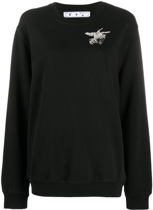 Off-White Birds Arrows print sweatshirt