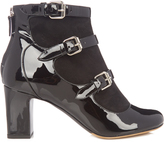 Tabitha Simmons Lucie suede and leather ankle boots