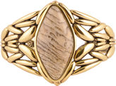 Barse BIJOUX BAR Art Smith by Genuine Jasper Brass Cuff Bracelet