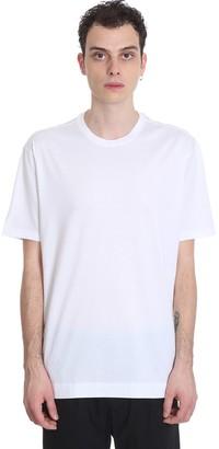 Ermenegildo Zegna T-shirt In White Cotton