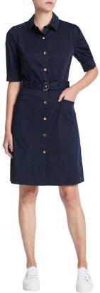 Marcs Cate Pleat Sleeve Shirt Dress
